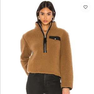 Pistola Faux Shearling Pullover